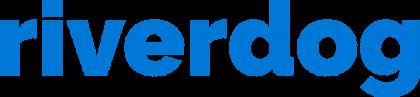 Wordmark blue